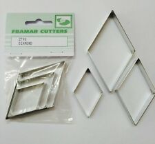 Cake Decorating Metal 279S Diamond by Framar Cutters