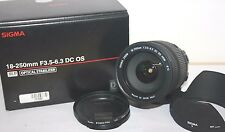 Sigma 18-250mm f/3.5-6.3 DC OS HSM Macro Lens for Canon EOS Digital Boxed