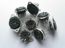 By Eby? Cinch? Elco? Norelco? 8 Pieces tube sockets for 12AX7,5751,6922,7308,Cca