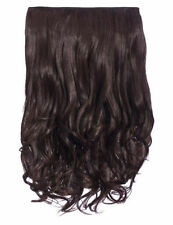NEW WOMENS CURLY CLIP IN 1 PIECE SET WEFT HAIR EXTENSIONS KOKO UK STOCK 20""