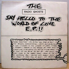 """RADIO GHOSTS - Say Hello - French issue moody psych 7""""/45 3-song EP - LISTEN"""