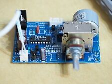 IR Remote rotary motorized potentiometer passive preamplifier kit !
