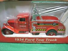Snap-On Tools 1934 Ford Wind Up Toy Tow Truck 1:43 Scale Replica Crown Premiums