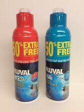 Fluval Aqua Plus and Fluval Cycle 375ml (50% Free) Aquarium Water Care BUNDLE