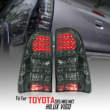 Smoke Len Rear Tail light Lamp LED Toyota Hilux Vigo SR5 Mk6 Champ Mk7 2005-2014