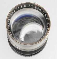 Schneider 8cm f2 Xenon Nikon SLR mount  #778753