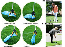 """No Bending No Touching Single-Handed Pik-a-Poo™ Walker Scooper 28"""" With Bags"""