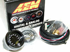 AEM 30-4402 52mm Electronic 100-300F Oil/Water/Tranny Temperature Gauge Meter