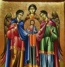 Icono arcángeles asamblea Ángel Icon angel Ikona Icone Orthodox icoon Icona