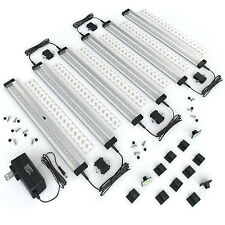 [New] EShine 6 Panels Under Dimmable Cabinet LED Lighting-Hand Wave-Warm White