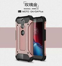 Protective Hybrid Shockproof Hard Cover+Silicone Case For Motorola Moto G4 Plus