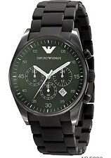 Emporio Armani AR5889 Full Black Sportivo Chronograph Men's Wrist Watch