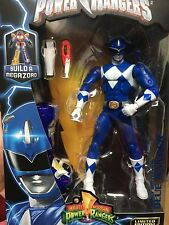 IN STOCK! NEW BLUE POWER RANGERS LEGACY 6 inch Action Figure W/ BAF MEGAZORD
