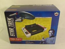 New Star Trek Captain Chair Float Swimming Pool Controller Seat Inflatable Box