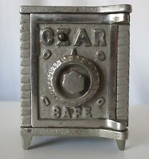 CZAR CAST IRON SAFE COMBINATION ANTIQUE BANK, ARCADE MANUFACTURING CO.