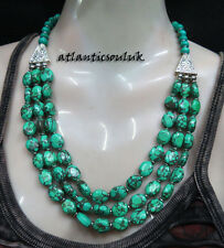 N31 Turquoise Resin Fashion collectible women ethnic beautiful Necklace Nepal