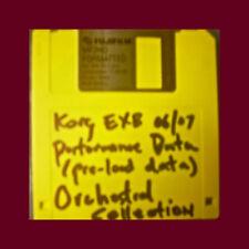 Korg EXB 06 07 Orchestral Collection PRELOAD FLOPPY disc Performance Data triton