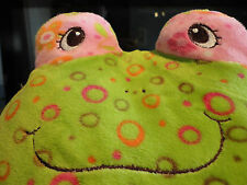 Mary Meyer Print Pizzazz Rollie Bubbles Frog # 37120 Mint w/Tags - So Cute!!