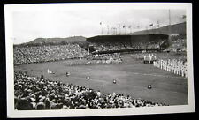 Honolulu HI~1944 Football Game~Navy & Marine Band Photo