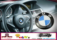 Bmw steering wheel badge 45mm autocollant logo emblème E36 E38 E39 E46 E60 F10 X5 X6