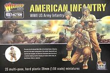 Warlord Games Bolt Action 28mm American Infantry (25 Figures)