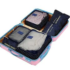 ITraveller6 set travel Organizers Packing Cubes Luggage Organizers Compressio...