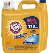 ARM and HAMMER Clean Burst Liquid Laundry Detergent, 255 Fl Oz