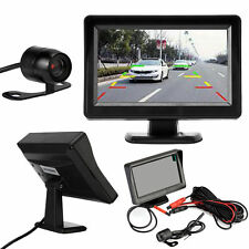 4.3'' LCD Car Rear View Kit Monitor + Reversing Packing Camera 170° Night Vision