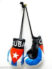 Cuba Cuban Mini Boxing Gloves Car Flag Decoration Mirror Hanging Ornament