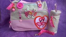Tropical flamingo 925 cœur argent bébé maman bébé sac à langer bébé mannequin