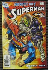 SUPERMAN #219 (2005) OMAC Project tie-in (FN/VF)