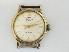 Antique Waltham 17j Incablock Mens Watch Wristwatch - 2010