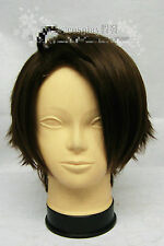 APH Axis Powers Hetalia Austria Cosplay Costume party Wig + Free Wig Cap