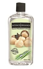 Intimate Organics - Macadamian Nut Flavored Lube - 4oz Lubricant