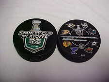 2016 NHL Dallas Stars Stanley Cup Plsayoffs Hockey Two Puck Souvenir Pack