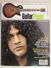 GUITAR PLAYER MAGAZINE JUNE 2004 SLASH GUNS N' ROSES GUITARIST