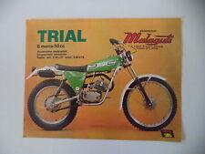 advertising Pubblicità 1977 MOTO MALAGUTI TRIAL 50