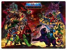 He-Man POSTER Masters of the Universe Character Map *VERY LARGE* He Man Skeletor
