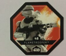 STAR WARS Jeton 48 FLAMETROOPER Cosmic Shells E.Leclerc Collector Image