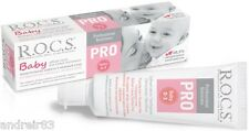 Toothpaste R.O.C.S. PRO BABY ROCS Oral Care