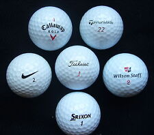 40 = BOLAS = MIXED = TITLEIST - TAYLOR MADE - CALLAWAY -NIKE - WILSON DX2-