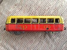 De Sousa Wind Up Tin Trolly Tram Portugal 1940's