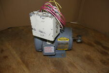Baldor 3-Phase Industrial Motor w/ 3-Prong Coupling and Power Connection Box