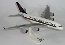 Singapore Airlines A380 Plastic Snap Fit Model PPC