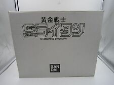 Anime Golden Warrior Gold Lightan Figure Chogokin Figure Display Box Bandai