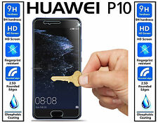 Genuine 100% TEMPERED GLASS Invisible Ultra HD Screen Protector For Huawei P10