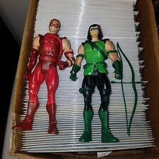 DC Universe Classics Wave 20 - Green Arrow, Red Arrow Action Figure Lot, Loose