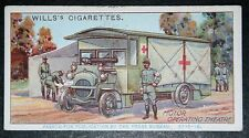 French Army  Motor Operating Theatre      World War 1    Vintage Card  VGC