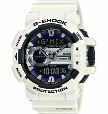 Casio G-Shock Bluetooth Smart linking music control watch GBA400-7C