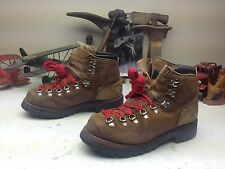 DEXTER MADE IN USA BROWN LEATHER LACE UP ENGINEER MOUNTAINEER BOSS BOOTS 8 D